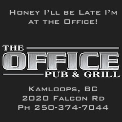 The Office Pub & Grill, Kamloops, BC - A Trusted Ride North America Member.